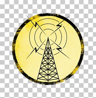 Telecommunications Tower Radio Broadcasting Aerials PNG