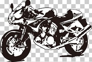 Motorcycle Frame Chopper PNG