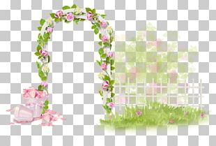 Floral Design Decoupage Drawing PNG