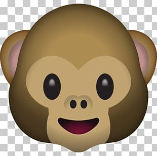Emoji Monkey Sticker Meaning Text Messaging PNG