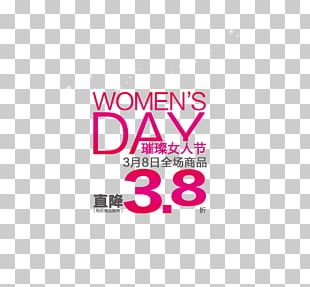International Womens Day Poster Sales Promotion Woman Advertising PNG
