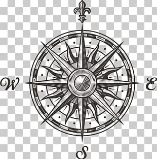 Compass Rose Stock Photography PNG