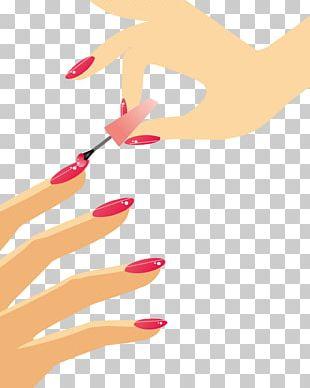 Nail Polish Manicure Euclidean PNG