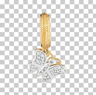 Earring Charm Bracelet Charms & Pendants Gold Jewellery PNG