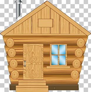 Graphics Log Cabin House Wood PNG