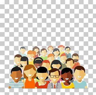 Community Social Group Illustration PNG