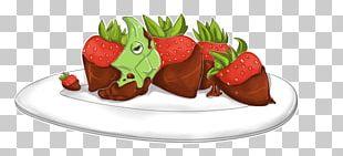 Strawberry Chocolate Cake Food Frozen Dessert PNG