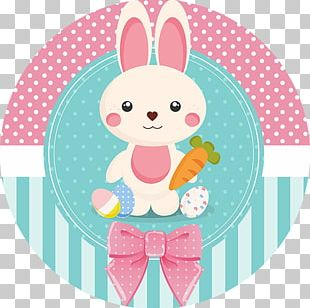 Easter Bunny Christmas Label Rabbit PNG