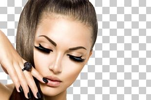 Eyelash Extensions Model Cosmetics Hair PNG