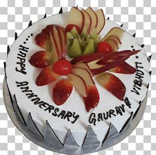 Fruitcake Birthday Cake Torte Cream Chocolate Cake PNG