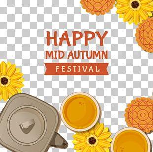 Mooncake Mid-Autumn Festival Chang'e PNG