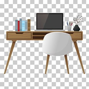 Table Office Desk Interior Design Services PNG