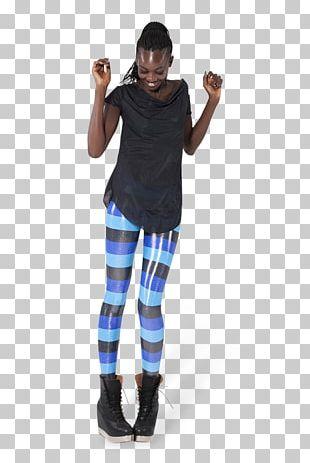 Leggings T-shirt Tartan Shoulder Jeans PNG