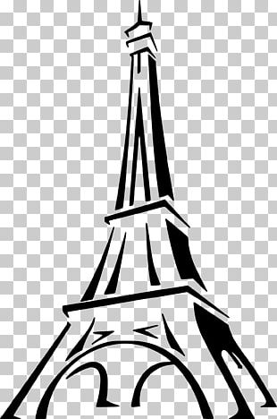Eiffel Tower Drawing Sketch PNG