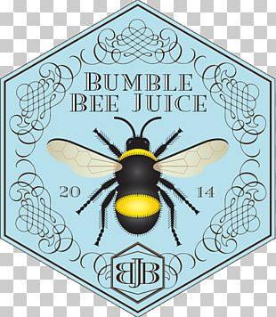 Honey Bee Bumble Bee Juice Sunflowers & Greens PNG