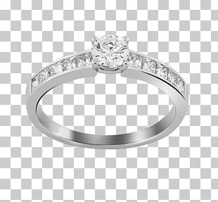 Wedding Ring Solitaire Jewellery Diamond PNG