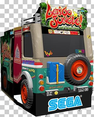Let's Go Jungle!: Lost On The Island Of Spice Jurassic Park Arcade Game OutRun 2 Lethal Enforcers PNG