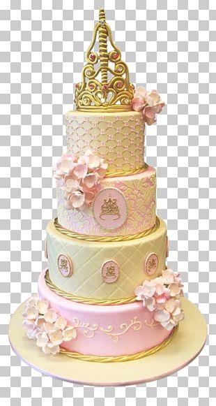 Birthday Cake Princess Cake Cupcake Wedding Cake Icing PNG