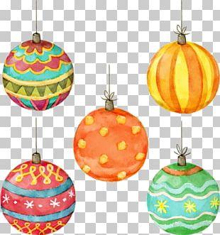Christmas Lights Christmas Lights Watercolor Painting PNG