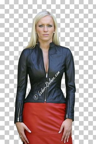Leather Jacket Nappa Leather Vêtement En Cuir Clothing PNG