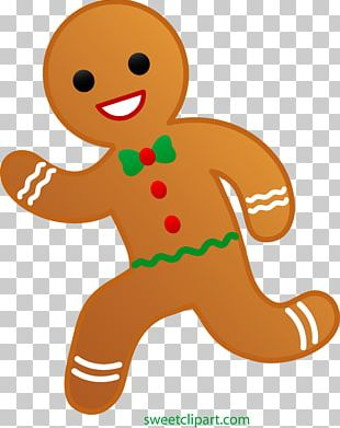 Gingerbread Man Biscuits PNG