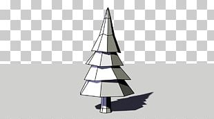 Christmas Tree Low Poly Sales License PNG