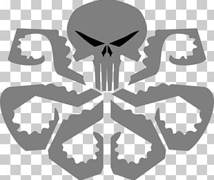 Punisher Hydra Iron Man Logo PNG