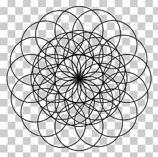 Sacred Geometry Torus Circle PNG