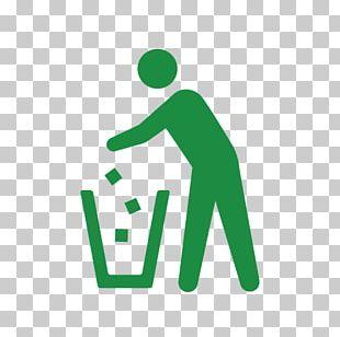 Municipal Solid Waste Rubbish Bins & Waste Paper Baskets Bin Bag TrashBox Pictogram PNG