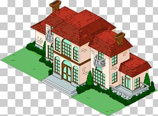 The Simpsons: Tapped Out Fat Tony Manor House Chemical Compound PNG