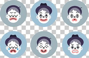 Mime Artist Emotion Clown PNG