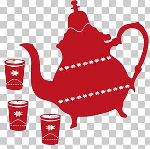 Moroccan Cuisine Maghrebi Mint Tea Teapot Sticker Tajine PNG
