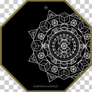 Mandala Sacred Geometry Artefact PNG