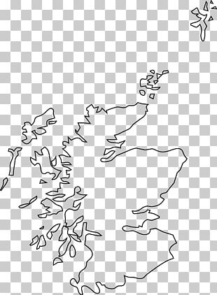 Scotland Blank Map Graphics PNG