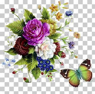 Watercolor Painting Flower Arranging Photography PNG