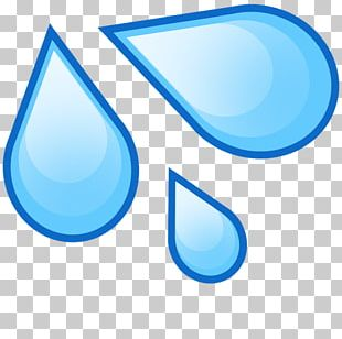 Emoji Drop Water Splash Drawing PNG