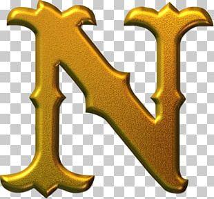 Gothic Alphabet Blackletter Font PNG