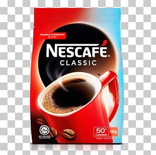 Instant Coffee Cafe Coffee Milk Nescafé PNG