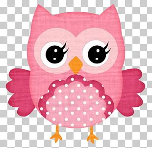 Little Owl Pink PNG