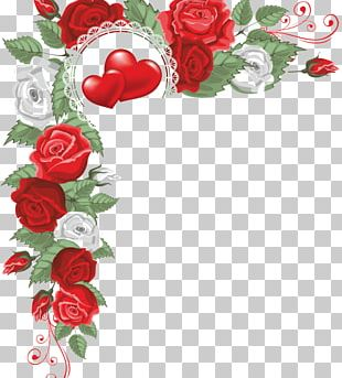 Heart Flower PNG