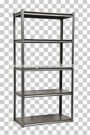 Shelf Slotted Angle Bracket Table Warehouse PNG