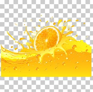 Orange Juice Soft Drink Lemon PNG