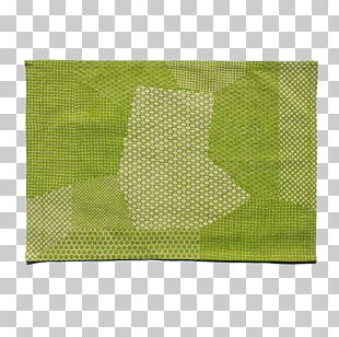 Textile Place Mats Linens Rectangle Green PNG