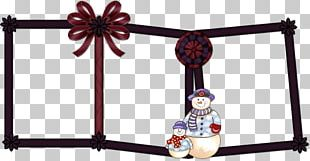 Frame Rectangle Snowman Photography PNG