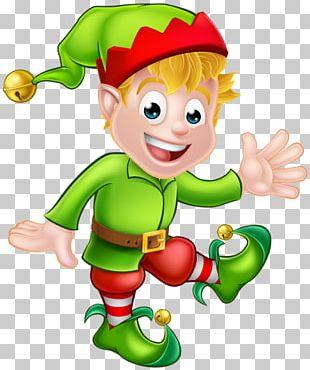 Santa Claus Christmas Elf The Elf On The Shelf PNG