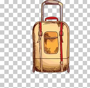 Suitcase Travel Cartoon PNG