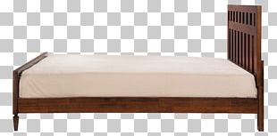 Bed Frame Mattress Wood Furniture PNG