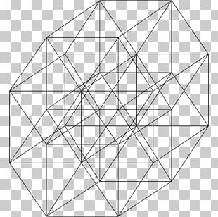 5-cube Five-dimensional Space Hypercube Tesseract PNG