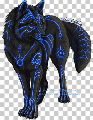 Gray Wolf Drawing Fantasy PNG