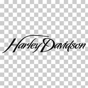 Harley-Davidson Motorcycle Script Typeface Logo Font PNG